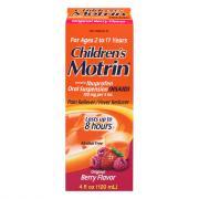 Children's Motrin Berry