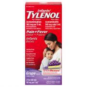 Infant's Tylenol Grape Flavor