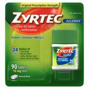 Zyrtec Indoor & Outdoor Allergy Tablets