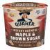 Quaker Express Maple & Brown Sugar Instant Oatmeal