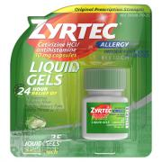 Zyrtec Allergy Liquicaps