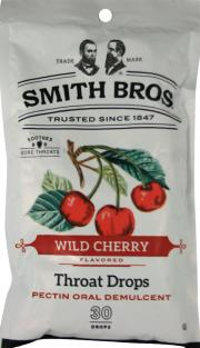 Smith Bros. Wild Cherry Flavored Throat Drops
