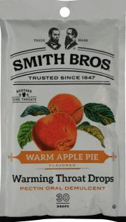 Smith Bros. Warm Apple Pie Warming Throat Drops