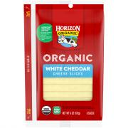 Horizon Organic Sliced Cheddar Cheese
