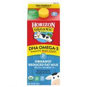Horizon Organic 2% Reduced Fat Milk