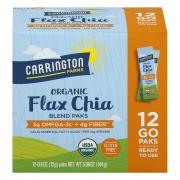 Carrington Farms Organic Flax Chia Blend Paks