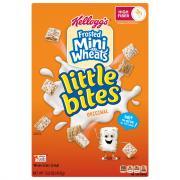 Kellogg's Frosted Mini Wheats Little Bites Original Cereal