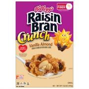 Kellogg's Raisin Bran Crunch Vanilla Almond Cereal