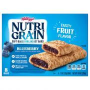 Kellogg's Nutri-Grain Blueberry Bars
