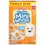 Kellogg's Frosted Mini Wheats Cereal Original
