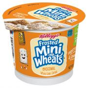 Kellogg's Frosted Mini Wheats Cereal In A Cup