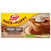 Eggo Thick & Fluffy Cinnamon Brown Sugar French Toast