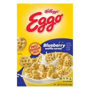 Kelloggs Eggo Blueberry Waffle Cereal