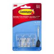 3M Command Clear Utensil Hooks