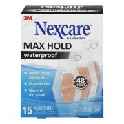 Nexcare Max Hold Waterproof Bandages