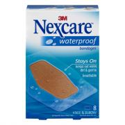 Nexcare Waterproof Knee & Elbow Bandages