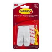 Command 3M Hooks with 4 Medium Strips