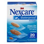Nexcare Assorted Waterproof Bandages