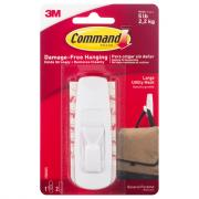 Command Large White Hook