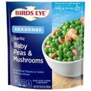 Birds Eye Steamfresh Garlic Baby Peas & Mushrooms