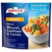 Birds Eye Steamfresh Light Sauce Broccoli Caulifower Carrots