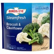 Birds Eye Steamfresh Broccoli & Cauliflower Mixtures
