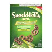 Snackwell's Fudge Dipped Pretzels 100 Calorie Packs