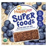 Happy Tot Super Foods Blueberries & Oatmeal Bars