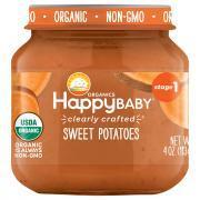 Happy Baby Stage 1 Jar Sweet Potatoes