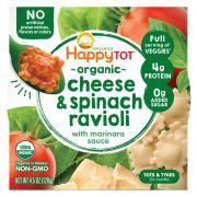 Happy Tot Organic Veggies Bowl Cheese & Spinach Ravioli