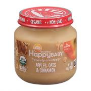 Happy Baby Stage 2 Baby Food Oats & Cinnamon