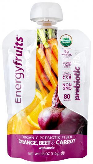 Energyfruits Orange Beet Carrot Organic Prebiotic