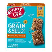 Enjoy Life Grain & Seed Banana Caramel Bars
