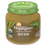 Happy Baby Stage 1 Jar Green Beans