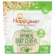 Happy Baby Organic Oatmeal Baby Cereal