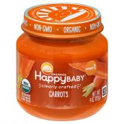 Happy Baby Stage 1 Baby Food Carrots