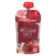 Happy Baby Stage 2 Baby Food Apples, Guavas & Beets