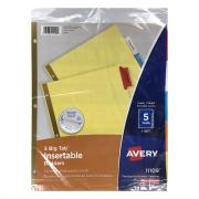 Avery Big Tab Insertable Paper Dividers