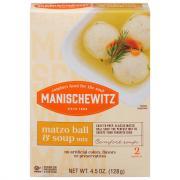 Manischewitz Matzo Ball & Soup Mix
