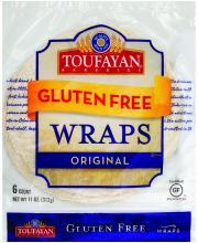 Toufayan Gluten Free Original Wraps