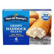 Van de Kamp's Battered Haddock Fillets