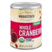 Woodstock Organic Whole Cranberry Sauce