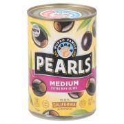 Pearls Medium Pitted Ripe Black Olives