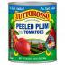 Tuttorosso No Salt Added Peeled Plum Tomatoes