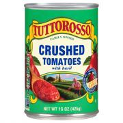 Tuttorosso Crushed Tomatoes with Basil