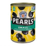 Pearls Small Pitted Ripe Black Olives