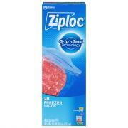 Ziploc Gallon Freezer Bags Value Pack