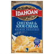 Idahoan Cheddar & Sour Cream Mashed Potatoes