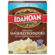 Idahoan Mashed Potatoes Box