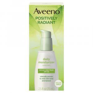 Aveeno Positively Radiant Daily Defense Spf 30